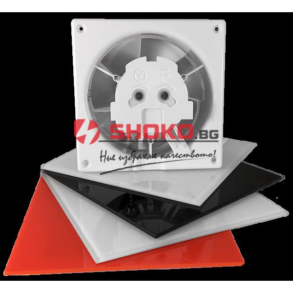 Вентилатор Битов dRim Ø 120 S BB  - ф120 mm, 10W, 140m3/h,сменяеми панели