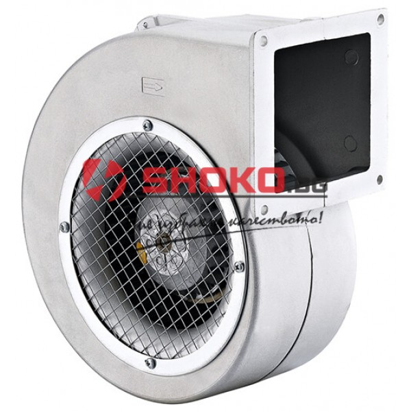Вентилатор центробежен промишлен BDRAS 108-50, 42W, 170m3/h тип