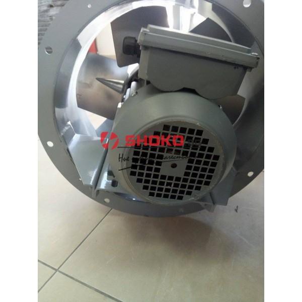 Аксиален вентилатор  за налягане,BTFM 630/ 6-16 / 1,1 / 4A -ф630мм 220/380V-14000m3