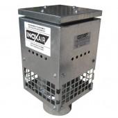 Вентилатор коминен покривен 90W, 600m3/h, ф150 с хоризонтално изхвърляне на въздуха