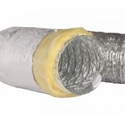 Алуминиев гъвкав въздуховод-SkyZen -изолиран