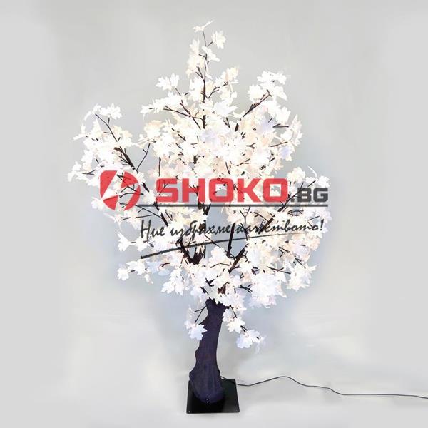 Светещо дърво-тип платанус 200см. 480 LED топла бяла светлина-IP44