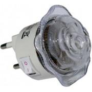 Мини нощна лампа роза - LED 4х0.1W