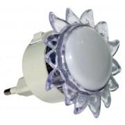 Мини нощна лампа слънце - LED 4х0.1W
