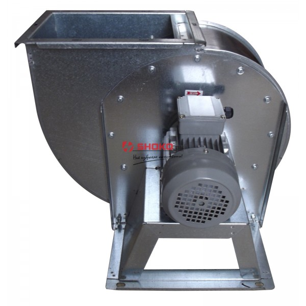 Вентилатор центробежен промишлен - тип охлюв, 1450RPM, 10000m3/h, Ф350mm MF3/10K4