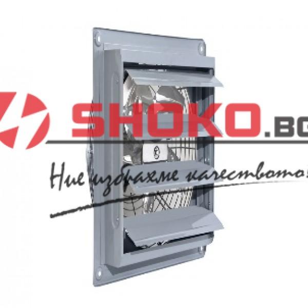 Вентилатор промишлен аксиален с клапа , MP-ILKA300, ф300mm, 120W, 2500m3/h