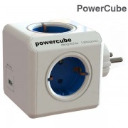 Разклонител PowerCube (Original USB) - 4 гнезда и 2 USB