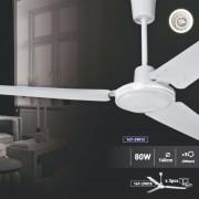 Вентилатор за тавана бял Ф140 80W 147-29012
