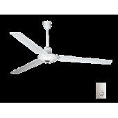 Вентилатор за тавана бял 3 броя Ф140 80W 147-29010