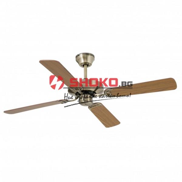 Вентилатор за таван кафяв  Ф130 70W 147-29018