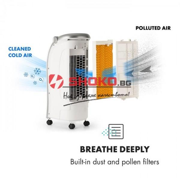 Преносим охладител-тип изпарителен(адиабатен охладител)  Household Air Cooler- бял 5L 80W 147-29800