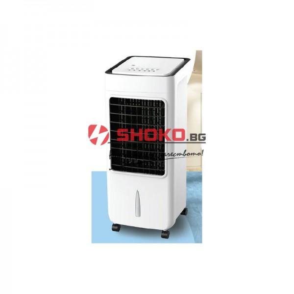 Преносим охладител-тип изпарителен(адиабатен охладител)  Household Air Cooler- бял c контролер 6.5L 80W 147-29801