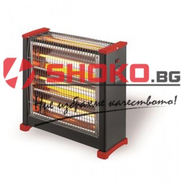 Кварцов нагревател 2400W с дистанционно управление