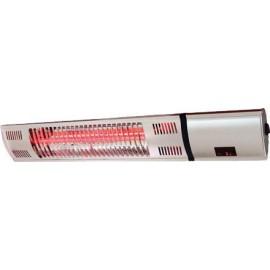 Инфрачервен отоплител със златна лампа и дистанционно управление 2000W Eurolamp
