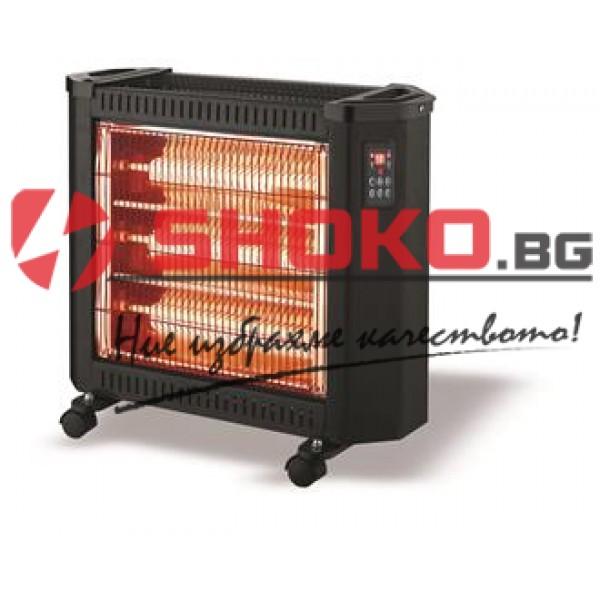 Кварцов нагревател 2400W с дистанционно управление и LED дисплей