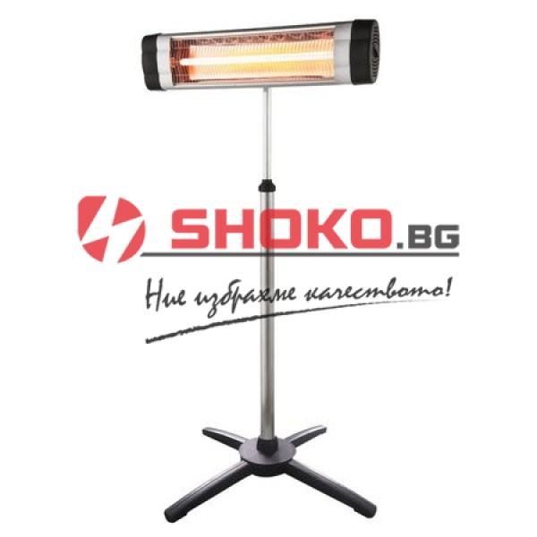 Инфрачервена лампа с дистанционно управление и таймер 2000W