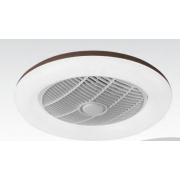 Таванен вентилатор CIERZO, цвят БЯЛ, LED, с дистанционно, 45W, ф55cm, 02-00168