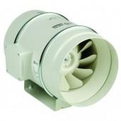 Вентилатор аксиален канален, двускоростен BMFX 200, 125/123W, 850/700m3/h, Ф200mm