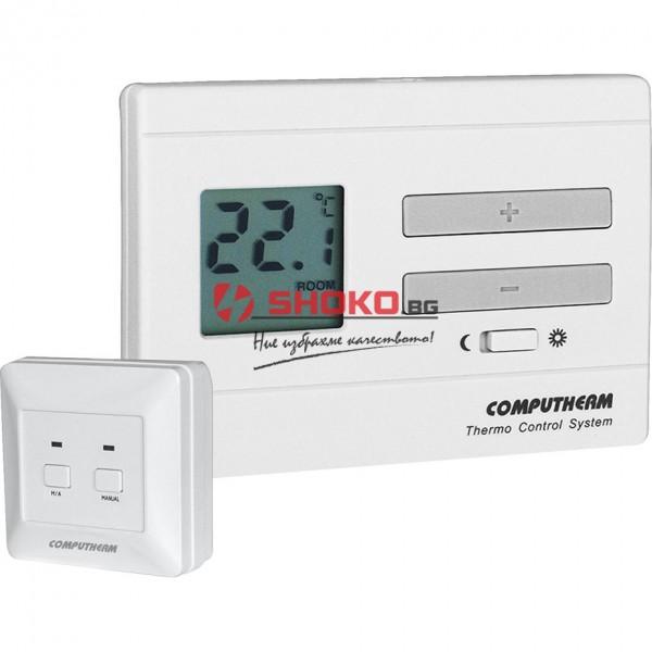 Безжичен Цифров стаен термостат Computherm Q3RF
