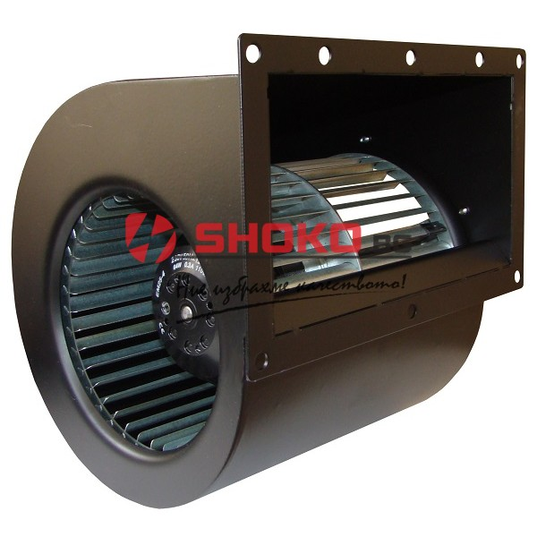 Вентилатор центробежен промишлен ЕМ-140, 64W, 640 m3/h