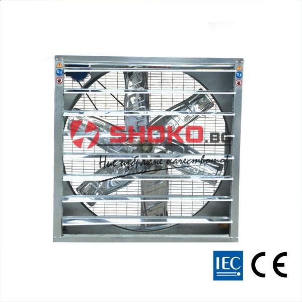 Вентилатор аксиален, промишлен 1.1KW, 44000m3/h